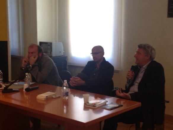 La poesia contemporanea. Dialogo tra Davide Rondoni e Alberto Bertoni. Modera Roberto Galaverni. Palazzo Gregoris, 11.00